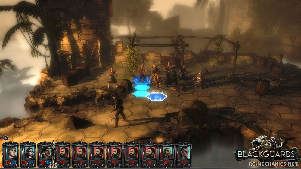 Скриншот к игре Blackguards - Deluxe Edition [v.1.7.23231] (2014) PC | Steam-Rip от Let'sРlay