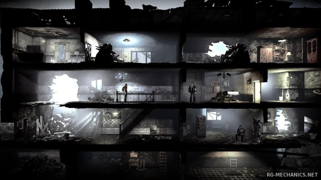 Скриншот 2 к игре This War of Mine [v.2.2.2] (2014) PC | Steam-Rip от Let'sРlay
