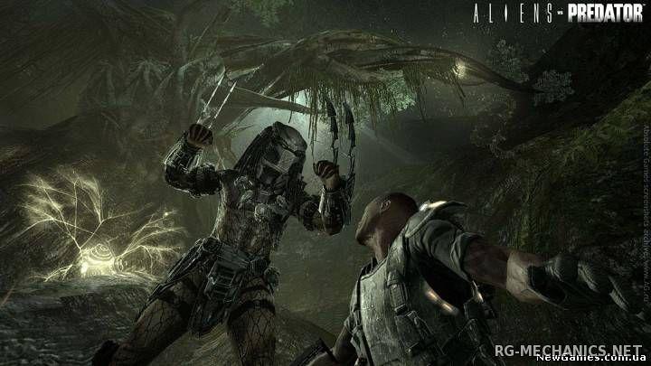 Скриншот к игре Aliens vs. Predator [Update 7] (2010) PC | Steam-Rip от Juk.v.Muravenike
