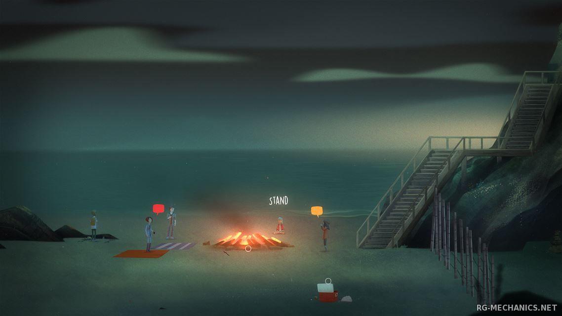 Скриншот к игре Oxenfree [v 2.1.0f26] (2016) PC | RePack от Other's