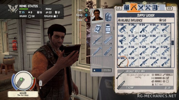 Скриншот к игре State of Decay: Year One Survival Edition [Update 4] (2015) PC   RePack by SeregA-Lus