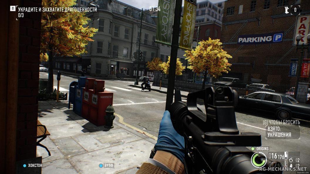 Скриншот к игре Payday 2 по сети
