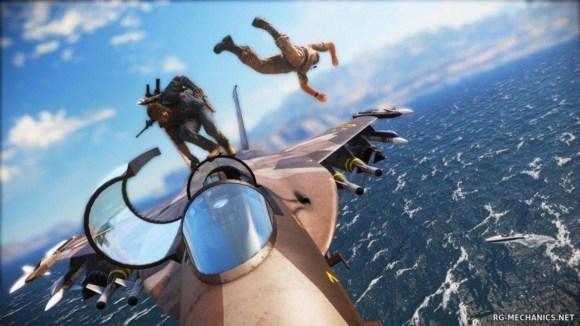 Скриншот к игре Just Cause 3 - XL Edition [v 1.0.5 + 10 DLC] (2015) PC   RePack от Valdeni