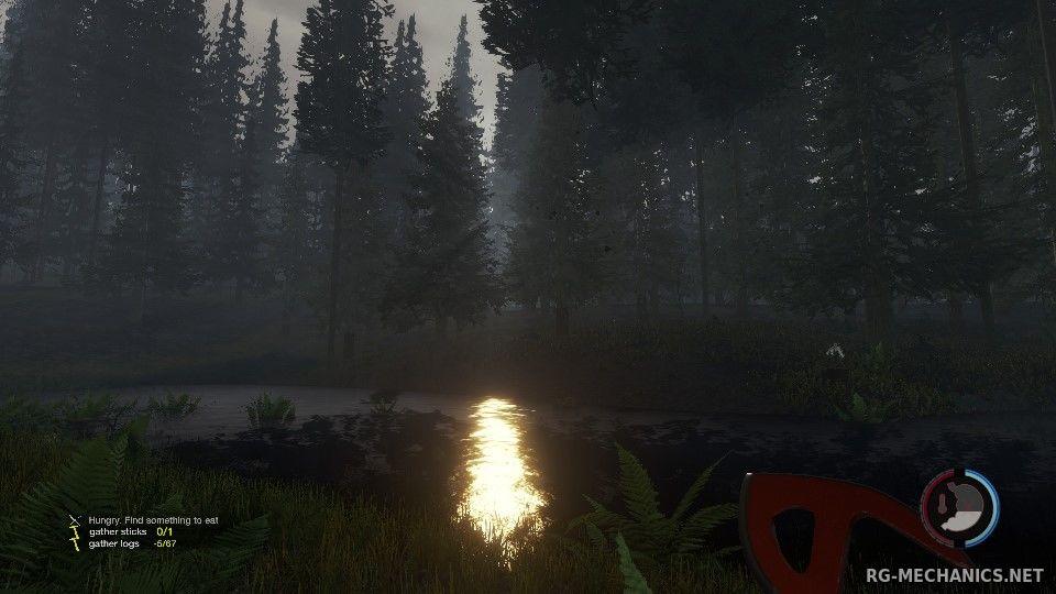 Скриншот к игре The Forest по сети