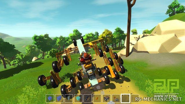 Скриншот к игре Scrap Mechanic v.0.4.3 [Portable] (Early Access) скачать торрент Лицензия