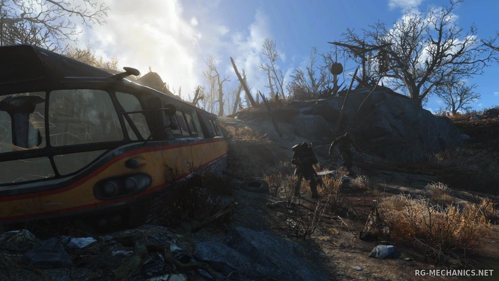 Скриншот к игре Fallout 4 [v 1.7.15.0.1 + 6 DLC] (2015) PC | RePack от R.G. Механики