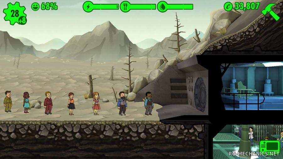 Скриншот к игре Fallout Shelter [v 1.6.2] (2016) PC | RePack от R.G. Механики
