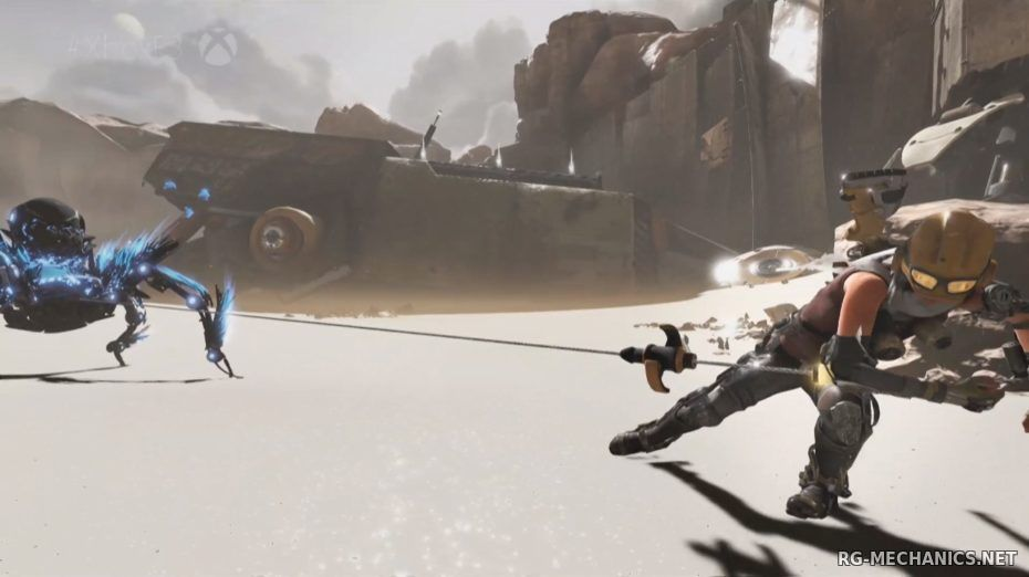 Скриншот к игре ReCore (2016)