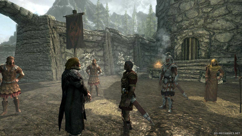 Скриншот к игре The Elder Scrolls V: Skyrim Legendary Edition v.1.9.32.0.8 + 4 DLC (2011-2013) скачать торрент RePack