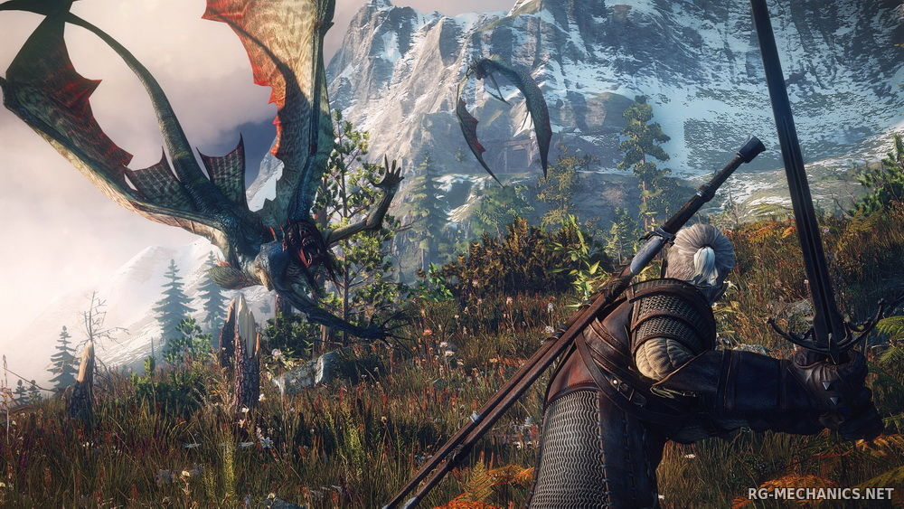 Скриншот к игре The Witcher 3: Wild Hunt + The Witcher 3 HD Reworked Project (mod v. 11.0) (2015) скачать торрент RePack