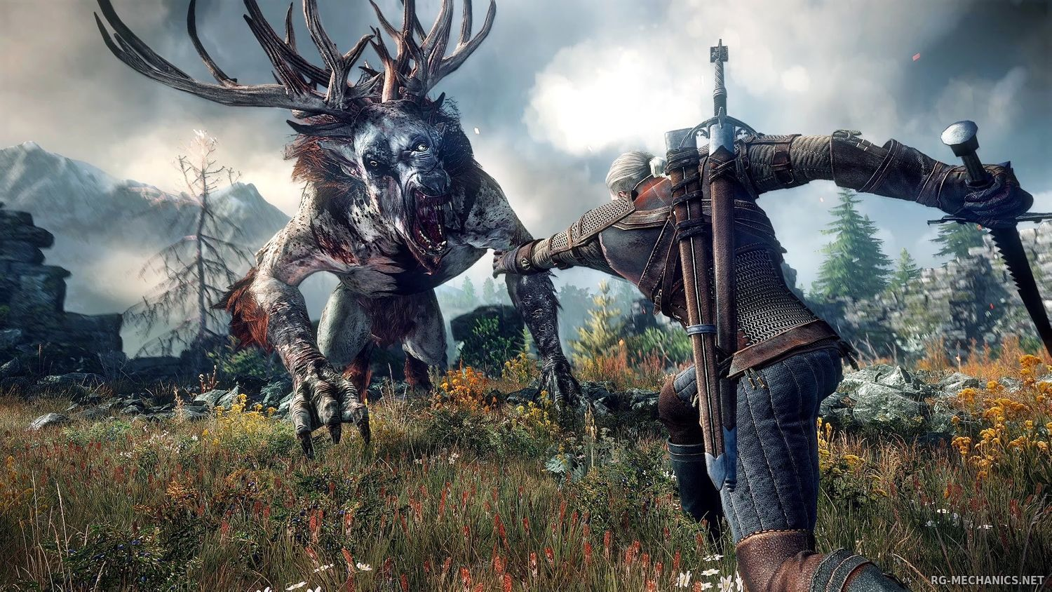 Скриншот к игре The Witcher 3: Wild Hunt + The Witcher 3 HD Reworked Project