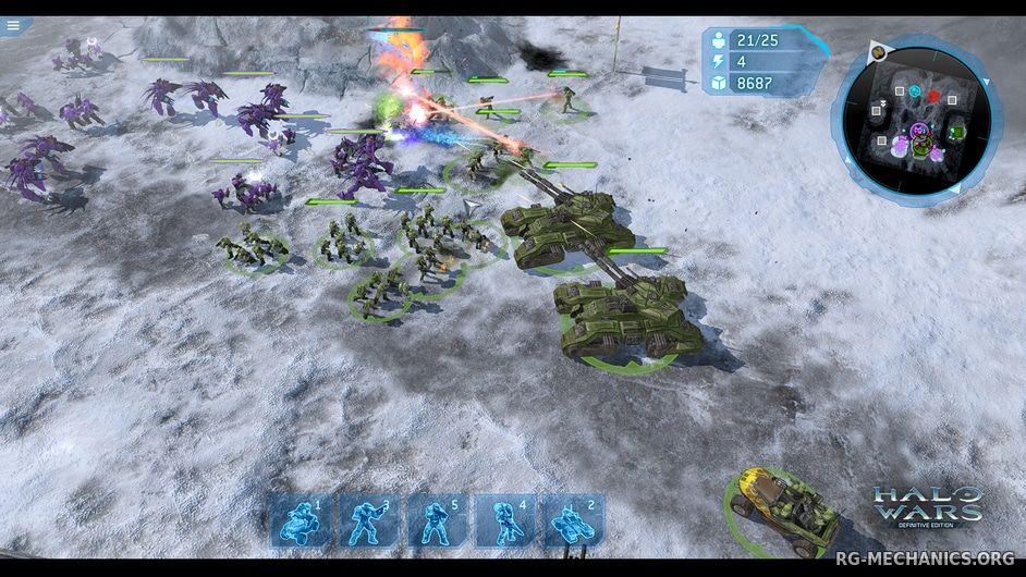 Скриншот к игре Halo Wars: Definitive Edition (2017) PC | RePack от R.G. Механики