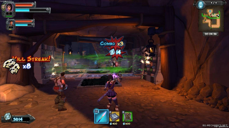 Скриншот к игре Orcs Must Die!: Dilogy (2011-2012) PC   RePack от R.G. Механики