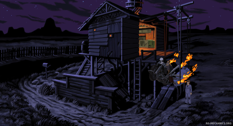 Скриншот к игре Full Throttle Remastered (2017) PC | Repack от R.G. Механики