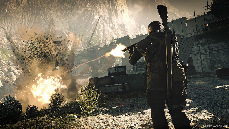 Скриншот к игре Sniper Elite 4 - Deluxe Edition (2017) PC | RePack от xatab