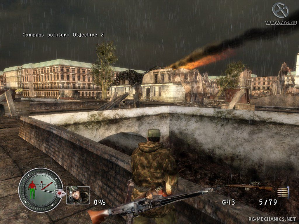Скриншот к игре Sniper Elite - Anthology / Sniper Elite - Антология (2005-2015) PC   RePack от R.G. Механики