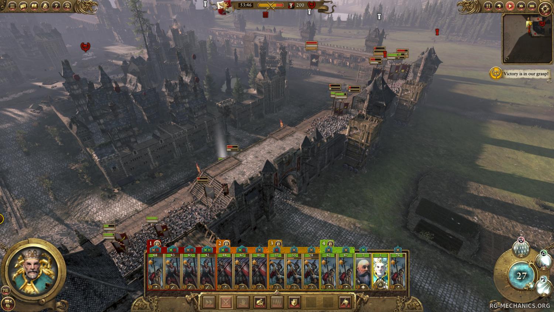 Скриншот к игре Total War: Warhammer [v 1.6.0 + 12 DLC] (2016) PC | Repack от R.G. Механики