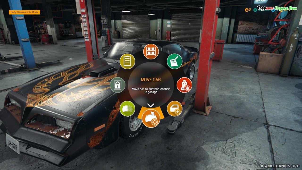 Скриншот к игре Car Mechanic Simulator 2018 (1.6.4) (2017) скачать торрент RePack от xatab