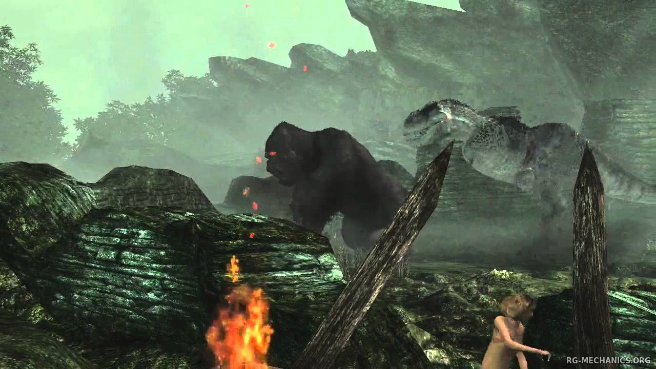 Скриншот к игре Peter Jackson's King Kong: The Official Game of the Movie (2005) PC | Repack от R.G. Механики