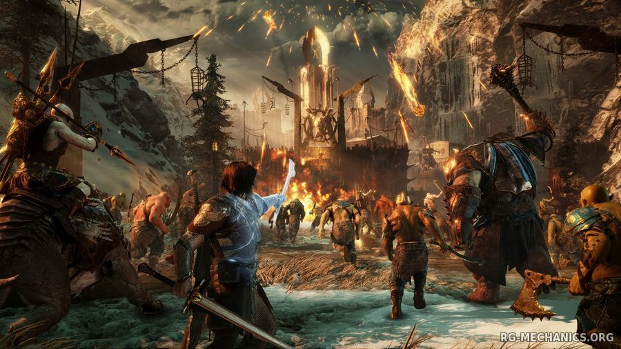 Скриншот к игре Middle-earth: Shadow of War - Gold Edition (2017) PC | RePack