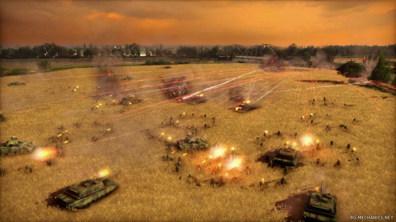 Скриншот к игре Wargame: Trilogy (2012-2014) PC | RePack от R.G. Механики