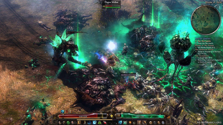 Скриншот к игре Grim Dawn [v 1.1.6.2 (36827) + DLC] (2016) скачать торрент RePack