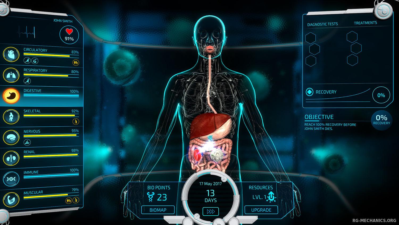Скриншот к игре Bio Inc. Redemption (2018) PC | RePack от R.G. Механики