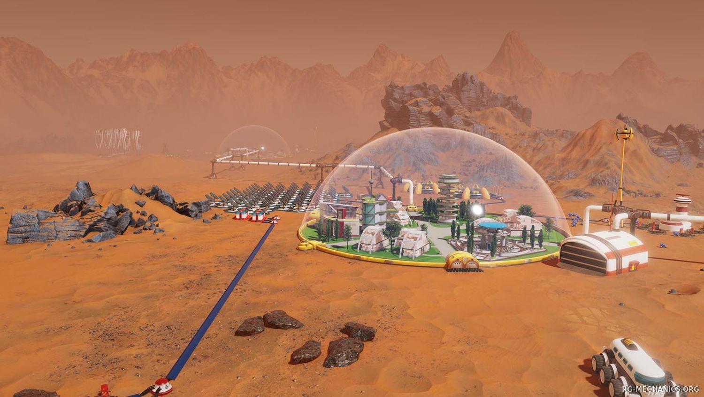 Скриншот к игре Surviving Mars Green Planet (2018) скачать торрент RePack от xatab