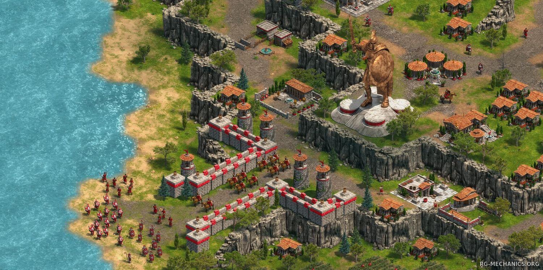 Скриншот к игре Age of Empires: Definitive Edition [build 27805] (2018) PC   Repack от R.G. Механики