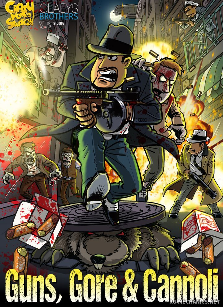 Скриншот к игре Guns, Gore & Cannoli: Dilogy (2015-2018) PC | Repack от R.G. Механики