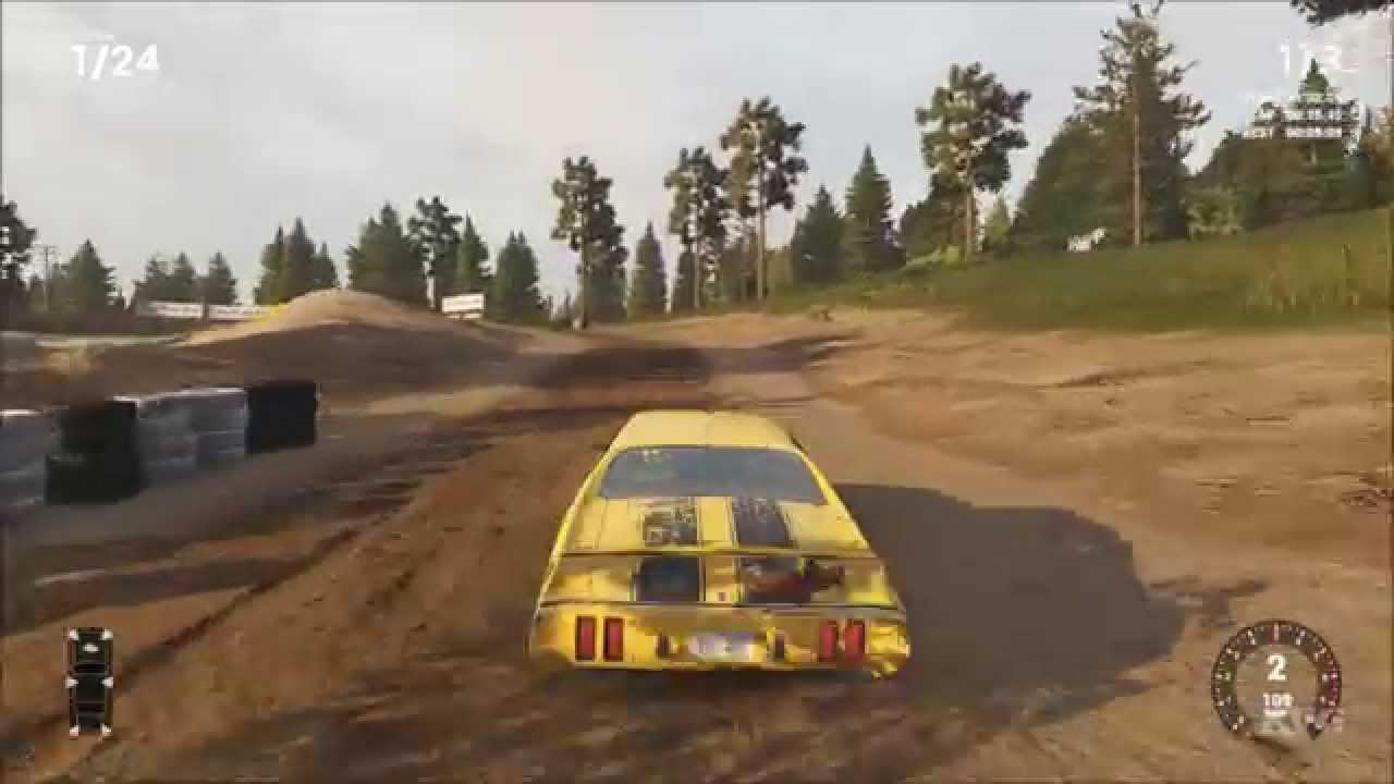 Скриншот к игре Wreckfest [v 1.256135 + DLCs] (2018) скачать торрент RePack