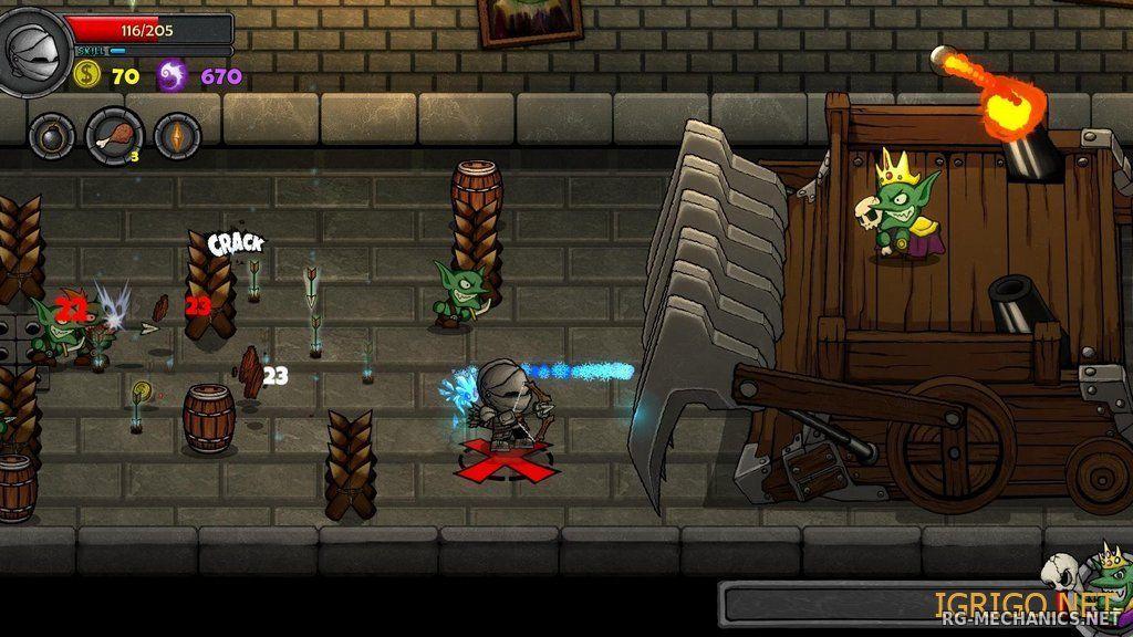 Скриншот к игре Lost Castle [v 1.83] (2016) PC | RePack от R.G. Механики