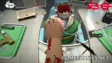 Скриншот к игре Surgeon Simulator 2013: Anniversary Edition (2013) PC | RePack от R.G. Механики