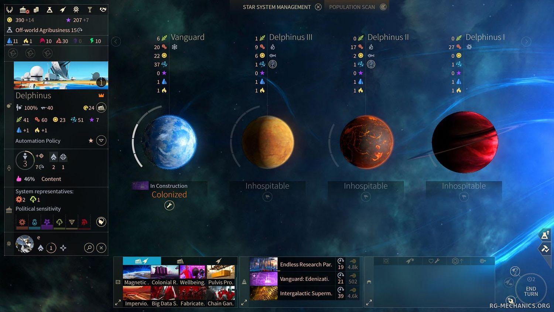 Скриншот к игре Endless Space 2: Digital Deluxe Edition [v 1.4.2 S5 + DLCs] (2017) PC   RePack от R.G. Механики
