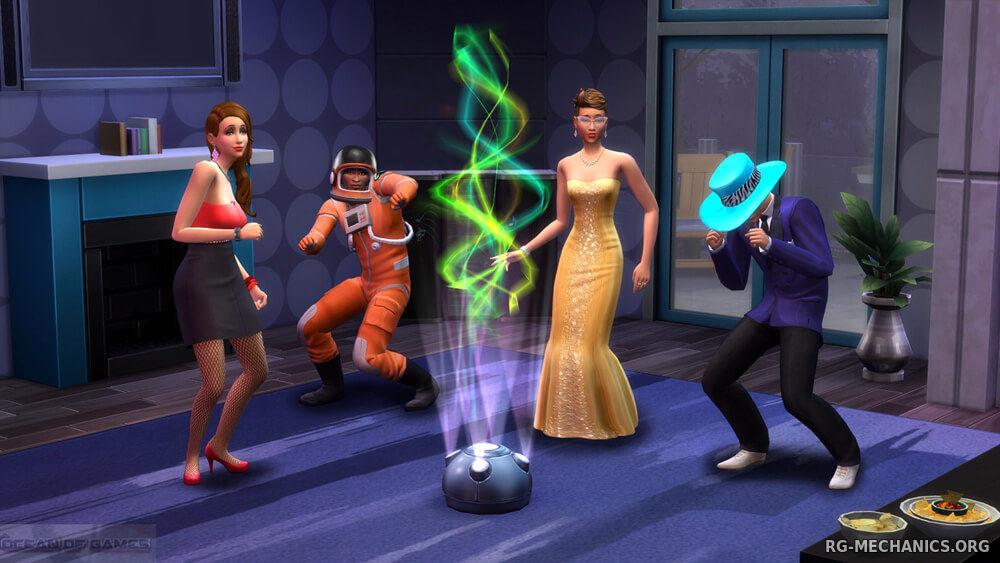 Скриншот к игре The Sims 4: Deluxe Edition (2014) скачать торрент RePack от xatab