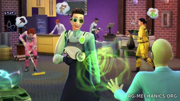 Скриншот к игре The Sims 4: Deluxe Edition [v 1.62.67.1020 (64х) , 1.62.67.1520(32х) + DLC] (2014) скачать торрент RePack