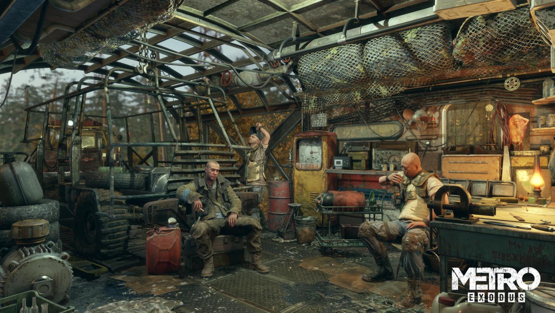Скриншот к игре Metro: Exodus - Gold Edition (2019) скачать торрент RePack