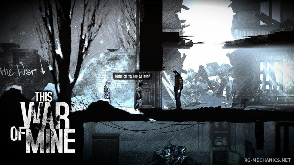 Скриншот к игре This War of Mine [v 5.1.0 + DLCs] (2014) PC | RePack от R.G. Механики