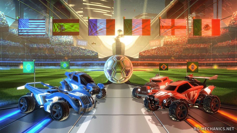 Скриншот к игре Rocket League [v 1.59 + DLCs] (2015) PC | RePack от R.G. Механики