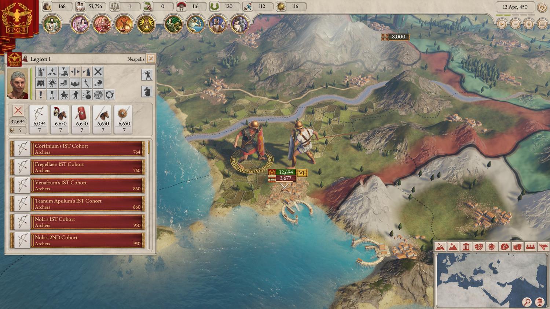 Скриншот к игре Imperator: Rome - Deluxe Edition [v 1.4.2 archimedes (37571)] (2019) скачать торрент RePack