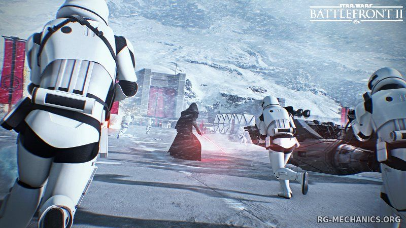 Скриншот к игре Star Wars: Battlefront II (2017) скачать торрент RePack от xatab