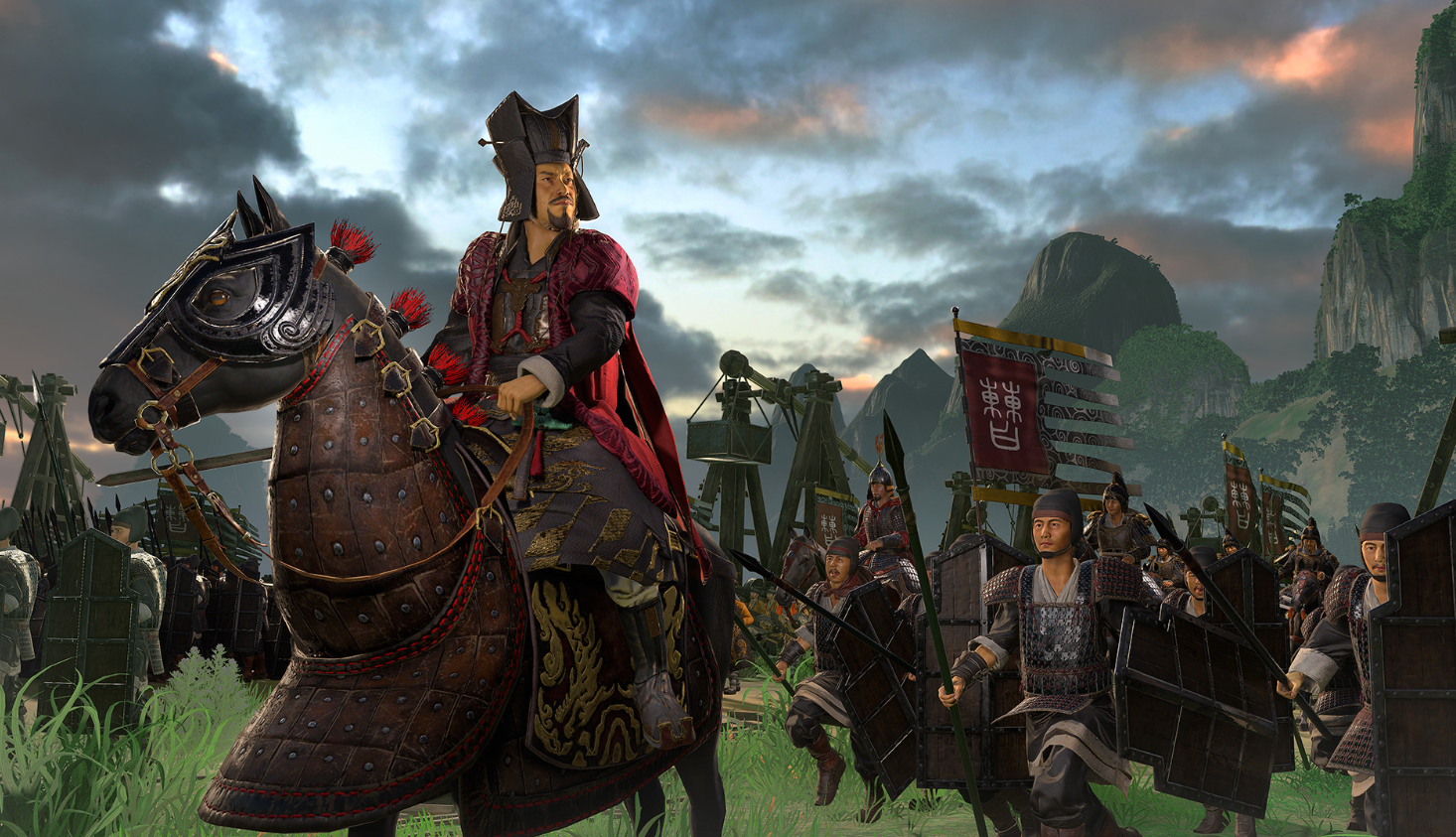 Скриншот к игре Total War Three Kingdoms