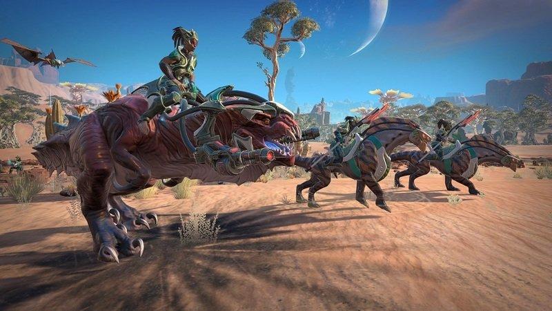 Скриншот к игре Age of Wonders: Planetfall [v 1.1.0.4 (34405) + DLCs] (2019) скачать торрент RePack