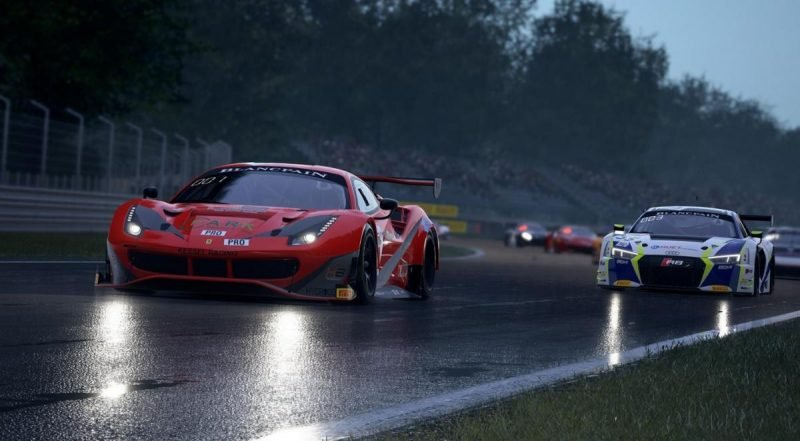 Скриншот к игре Assetto Corsa Competizione (v 1.4.0+DLC) (2019) скачать торрент RePack