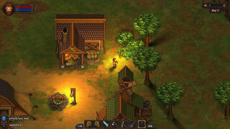Скриншот к игре Graveyard Keeper v.1.206 [GOG] (2018) скачать торрент Лицензия