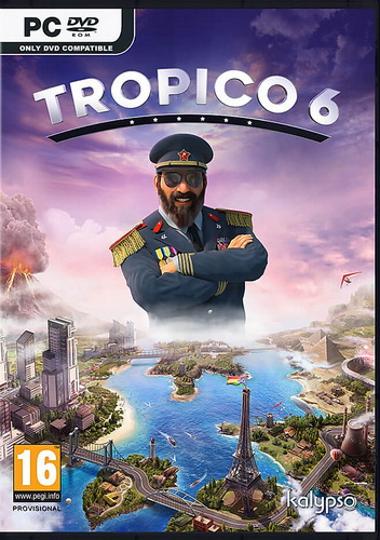 Обложка к игре Tropico 6 El Prez Edition