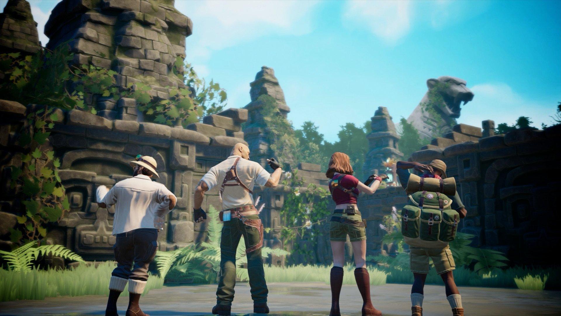 Скриншот к игре Jumanji: The Video Game (2019) скачать торрент Лицензия