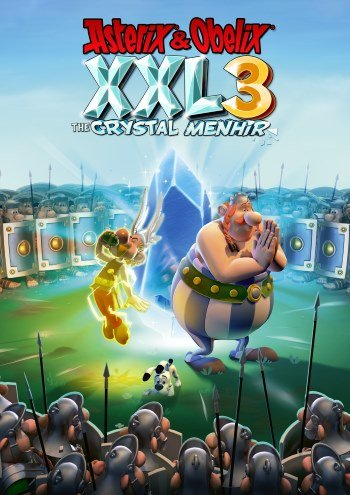 Обложка к игре Asterix & Obelix XXL 3 - The Crystal Menhir