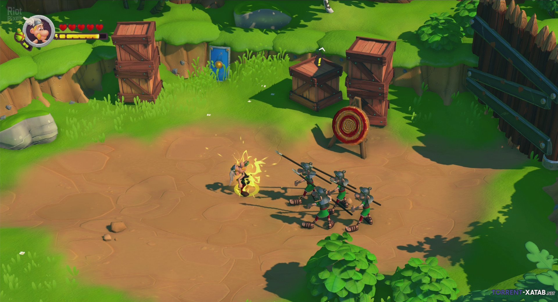 Скриншот к игре Asterix & Obelix XXL 3 - The Crystal Menhir