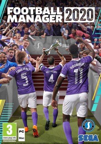 Обложка к игре Football Manager 2020